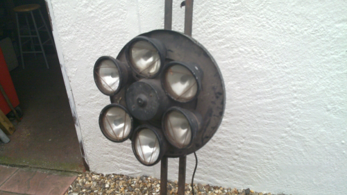 SOLD Unicopter Vintage disco light centre-piece